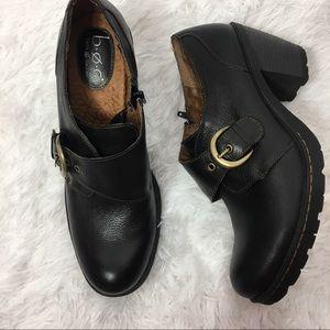 BOC Born Concepts Black Leather Bootie Size 11